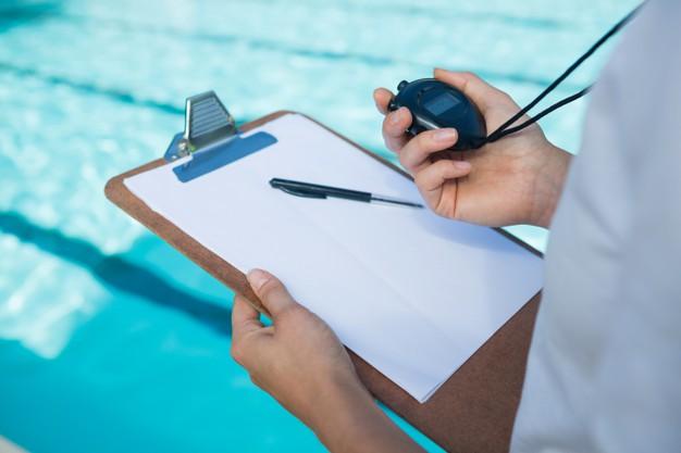 profesor de natacion